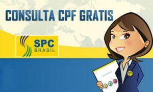 Como fazer consulta SPC grátis?