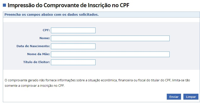 consultar cpf pela internet 5