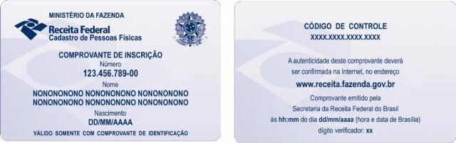 Cartao CPF