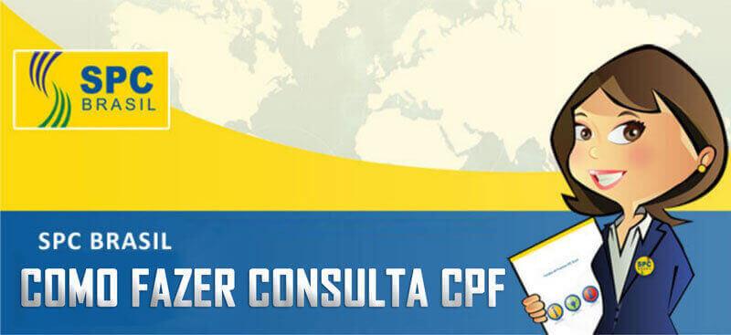 Como fazer consulta SPC gratis