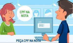 Para quê colocar CPF na Nota Fiscal?