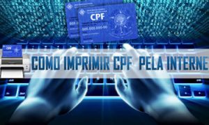Como imprimir CPF pela Internet