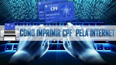 Como imprimir 2 via CPF pela Internet